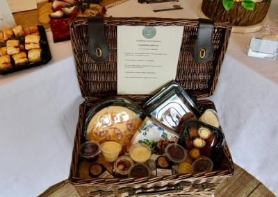 Wedding fair hamper