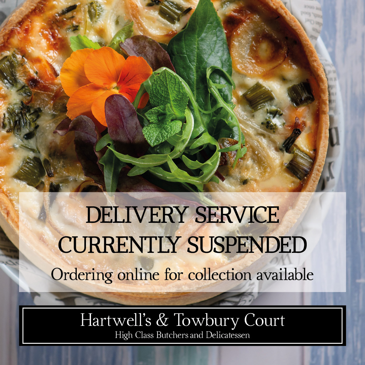 Towbury Court Delivery suspended June21